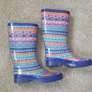 Sugar rainboots